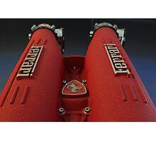Ferrari Red Photographic Print