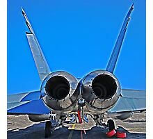 Super Hornet, tail end Photographic Print