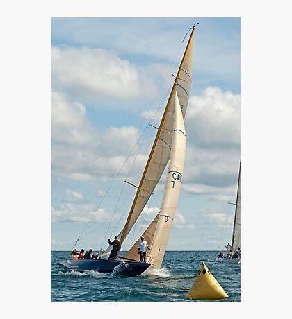Severn II at the Windward mark Photographic Print