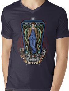 The 10th Mens V-Neck T-Shirt