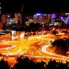 Perth at Night by GerryMac