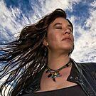...Jane, windswept... by Geoffrey Dunn