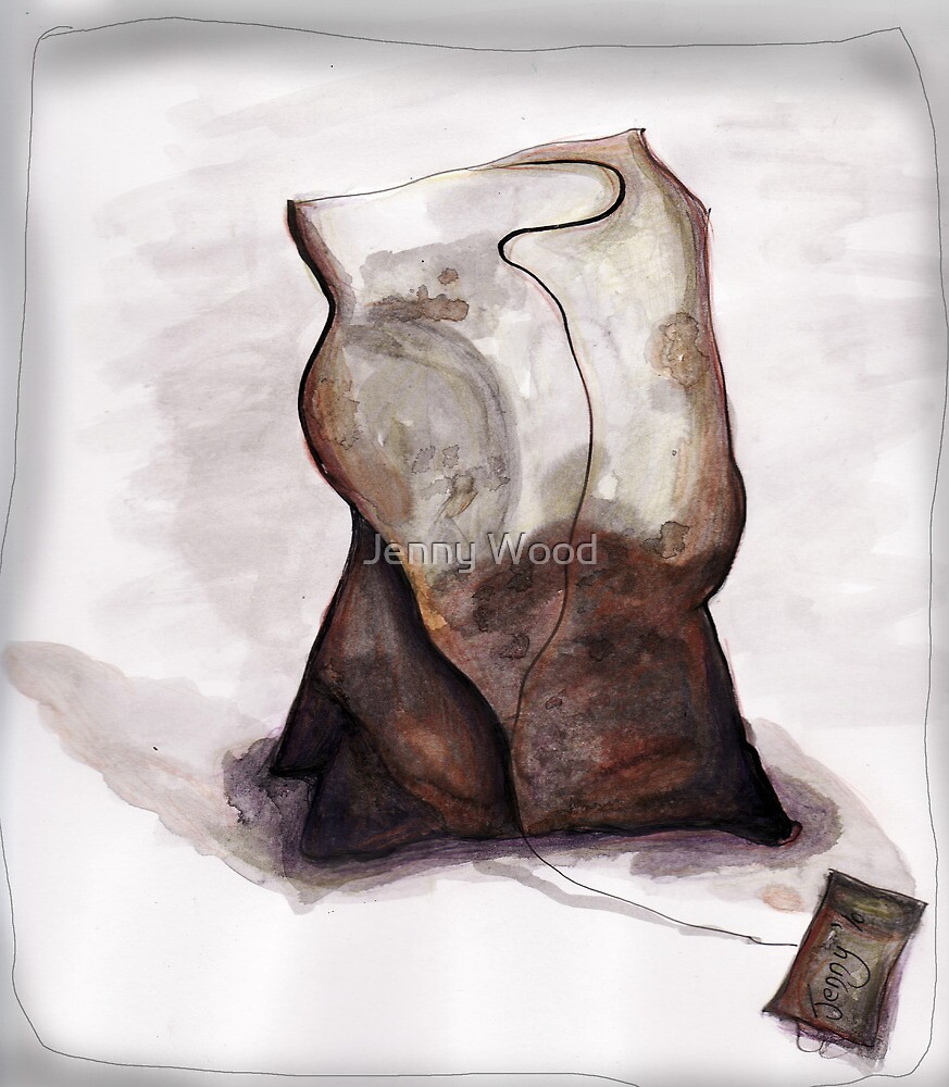 Another teabag by Jenny Wood
