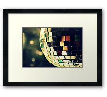 The old disco ball. Framed Print