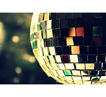 The old disco ball. Photographic Print