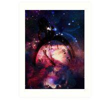 Time & Space Art Print