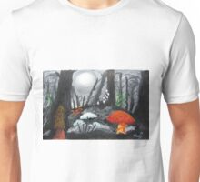 Moonlit Mushrooms Unisex T-Shirt