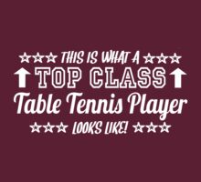 This Is What A Top Class Table Tennis Player Looks Like by Chimpocalypse