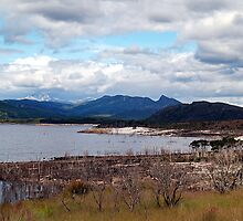 Lake Burberry Tasmania by Bevellee