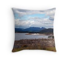 Lake Burberry Tasmania Throw Pillow