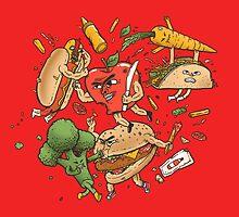 Tasty Showdown by Madkobra