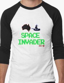 Space Invader since 1788 [-0-] Men's Baseball ¾ T-Shirt