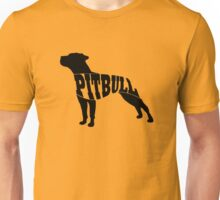 Pitbull black Unisex T-Shirt