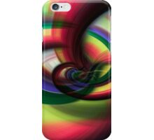 Going Round and Round iPhone Case/Skin