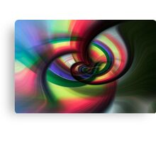 Going Round and Round Canvas Print