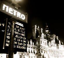 Metro by Sonia de Macedo-Stewart