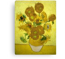 Sunflowers - Vincent van Gogh (1888) Canvas Print