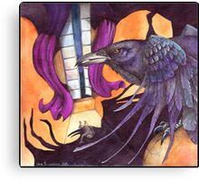 The Raven / Nevermore  Canvas Print
