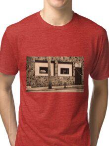 Binghampton, New York - Frankie's Tavern Tri-blend T-Shirt