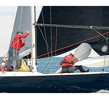 Onboard Gefion Photographic Print