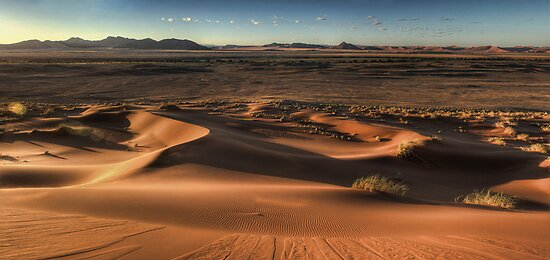 Sand Dune Sunrise by Scott Carr