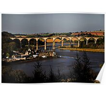 St Germans Viaduct Poster