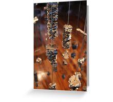 Abstract Art: Razors Greeting Card