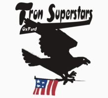 tron superstars eagle tshirt by tron2010