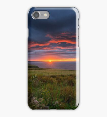 Sunrise over the Scottish Highlands iPhone Case/Skin