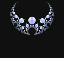 Mandelbrot Necklace Womens Fitted T-Shirt