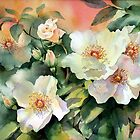 Val&#x27;s Roses by Ann Mortimer
