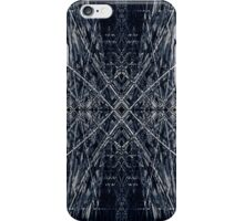Abstract futuristic pattern iPhone Case/Skin