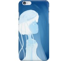 Jellyfish girl iPhone Case/Skin