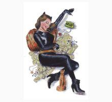 Batman 66 Catwoman Julie Newmar Pin-up Kids Clothes