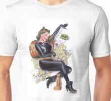 Batman 66 Catwoman Julie Newmar Pin-up Unisex T-Shirt
