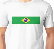 brazil country long flag  Unisex T-Shirt
