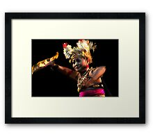 Soul Of The Dancer Framed Print