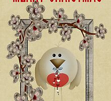 Merry Christmas .. a cute card by LoneAngel