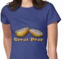 Great Pear Womens Fitted T-Shirt