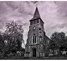 St Nicholas Church Wickham Hampshire  UK by hampshirelady