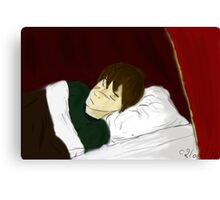Sleeping Remus Lupin Canvas Print