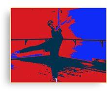 Dancing in the Studio Canvas Print
