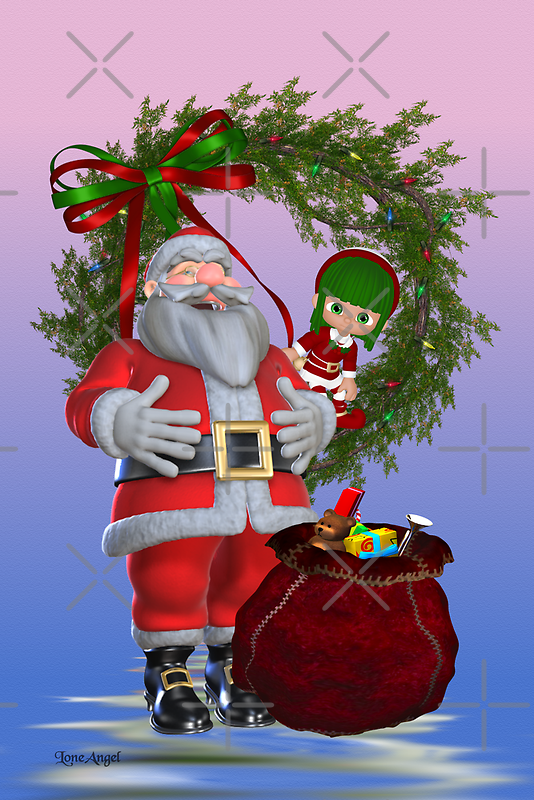 Santa`s Christmas by LoneAngel