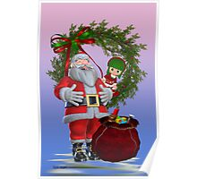 Santa`s Christmas Poster