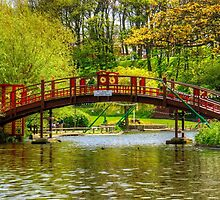 Peasholm Park Bridge by Tom Gomez