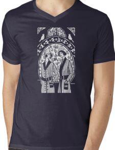 birdcage Mens V-Neck T-Shirt
