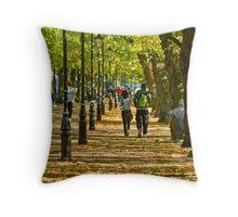 The Embankment, Bedford Throw Pillow