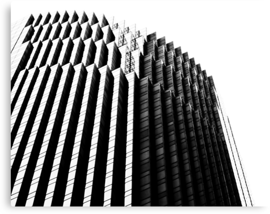 Architectural Abstract II by Buckwhite