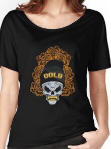 Golden Roses Women's Relaxed Fit T-Shirt