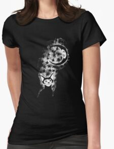 The Cat Who Walks Alone - T Shirt Womens Fitted T-Shirt